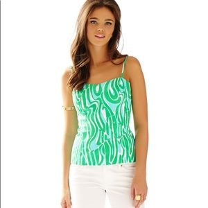 Lilly Pulitzer   The McCallum Fitted Top Size 6